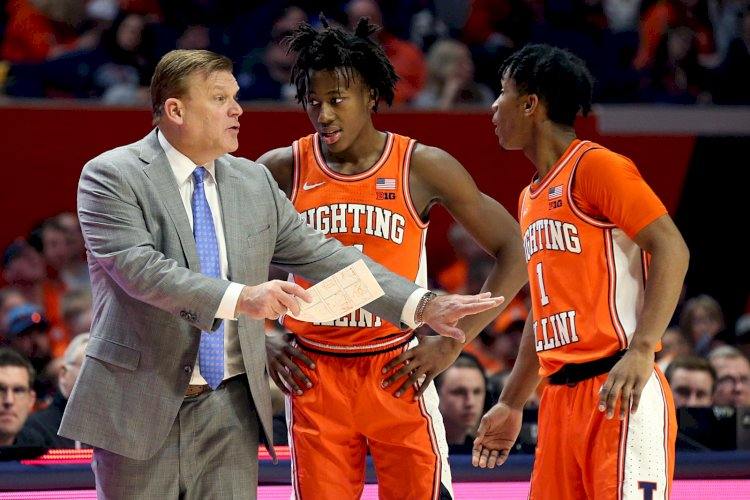 Here's a look at the career of Brad Underwood, a famous basketball coach