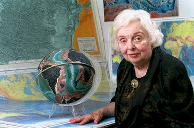 Marie Tharp Historical Map Brought the Seafloor to The World