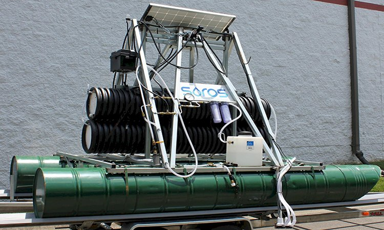 Solar Desalination System Produce Fresh Drinking Water