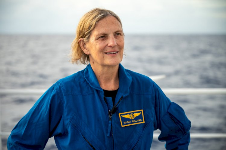 The first American woman to travel to space and to the deepest point on Earth