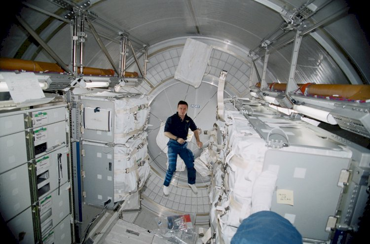 How different is the international space station life inside from us?