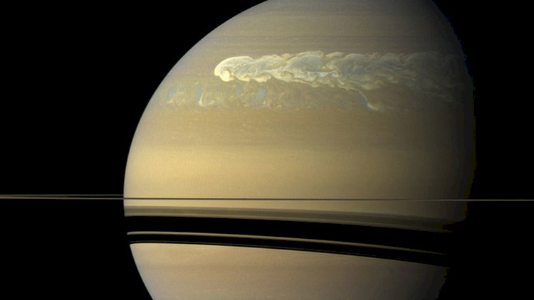 New Type of storm on Saturn have spotted by astronomers