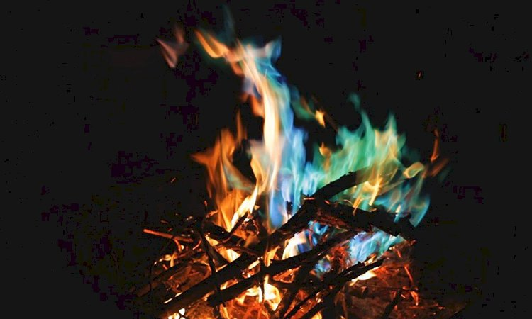 Fire's Heat Depends on Its Color