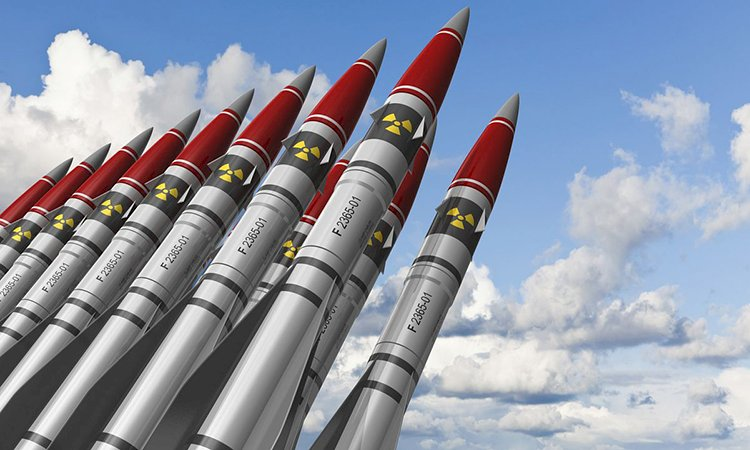 The powerful States with Nuclear Bombs
